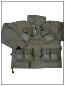 ベスト機能満載ショートジャケット(防寒防水)